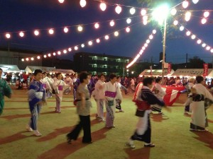 茨田北盆踊り大会 @ 茨田北小学校第2ごランド