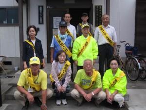 鶴見区防犯の日パトロール