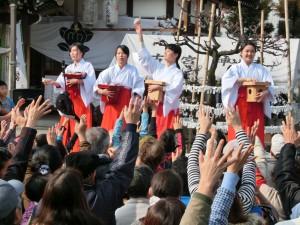 古宮神社節分祭